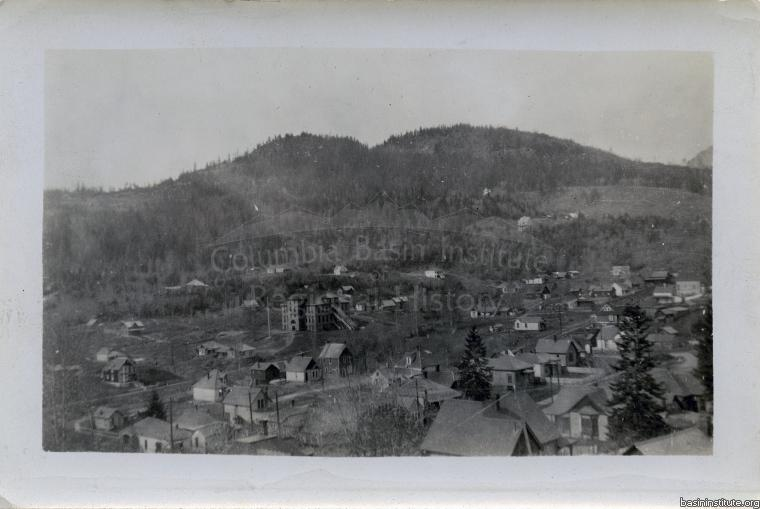 View of Rossland BC c.1901