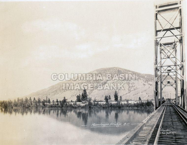 C.N. Railway Bridge at Kamloops, B.C.