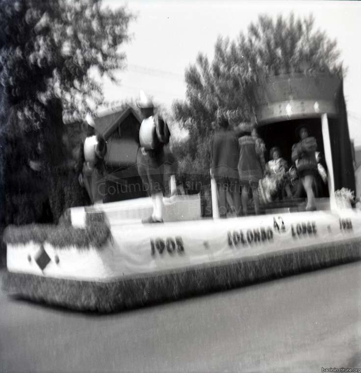 Silver City Jubilee Parade in Trail BC 1951