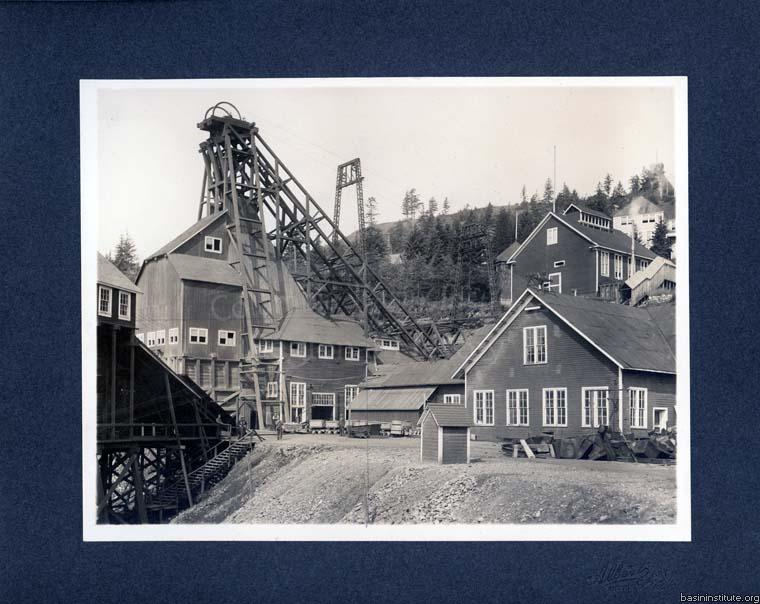 Centre Star Mine in Rossland, BC c.1910