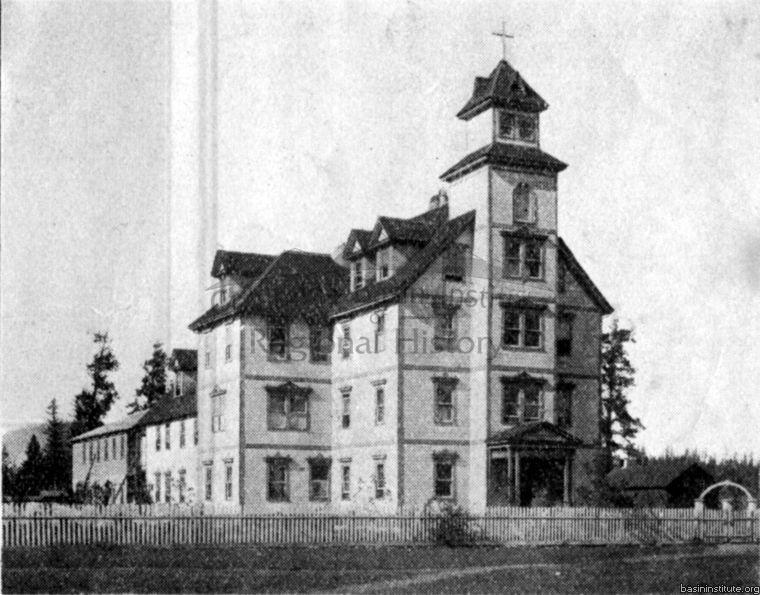1910 St. Eugene Hospital in Cranbrook