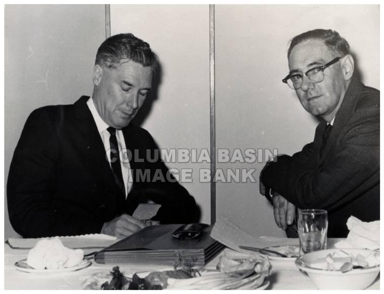 Forestry Minister of B.C. visits Cranbrook Sept. 27th 1962