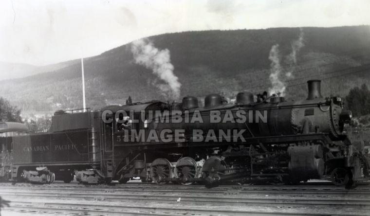 Kettle Valley Railway Locomotive