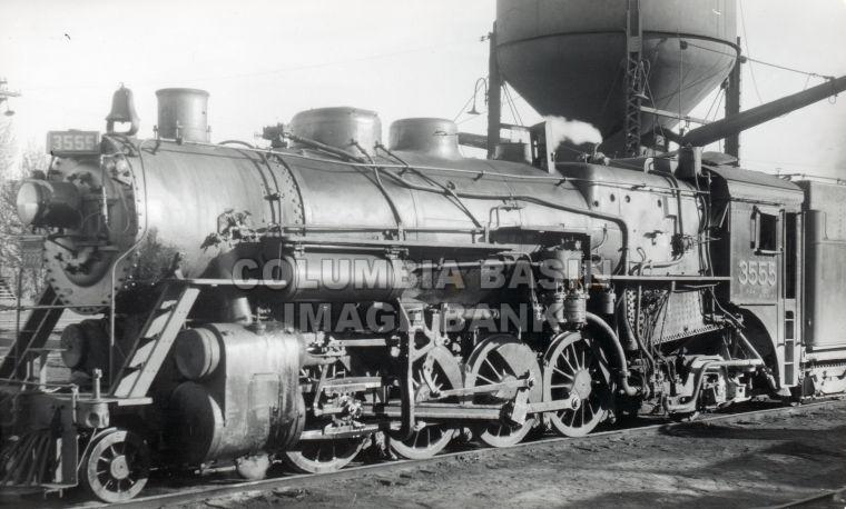 Steam Locomotive #3555