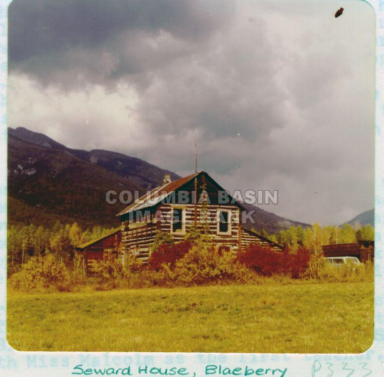 Seward House in Blaeberry, BC c.1950
