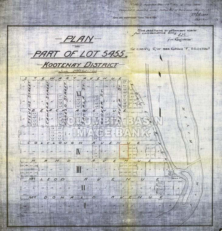 Survey Maps: West Fernie 1926
