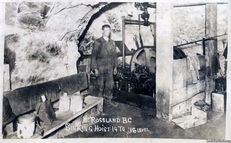 Le Roi Mine in Rossland, BC