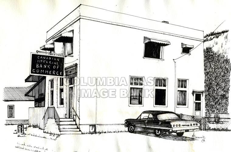 Michel-Natal, B.C. sketches: Canadian Imperial Bank of Commerce