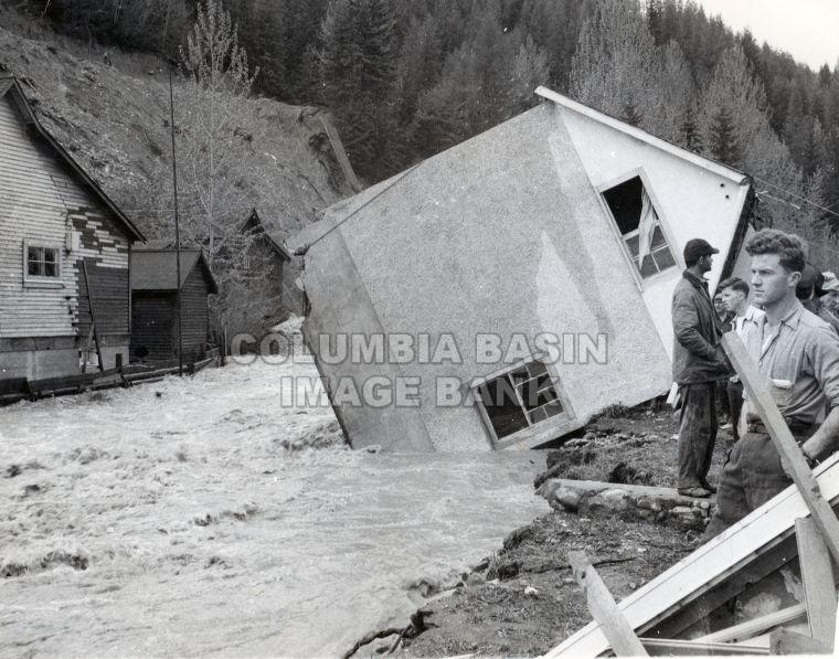 Mark Creek Flood 1948 Kimberley, B.C.