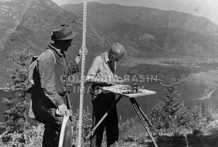 Geological Survey Moyie Lake