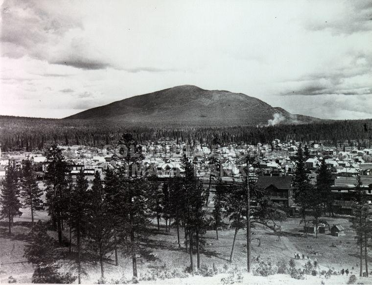 Early view of Baker Mountain, Cranbrook c.1905