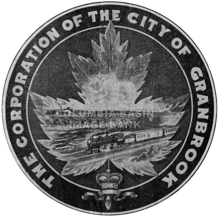 1910 Corporation of the City of Cranbrook Logo