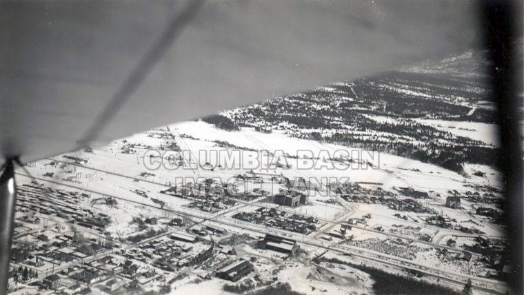 Cranbrook, B.C. from the air, 1938