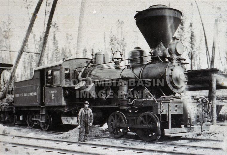 Crows Nest Pass Lumber Company Engine #2