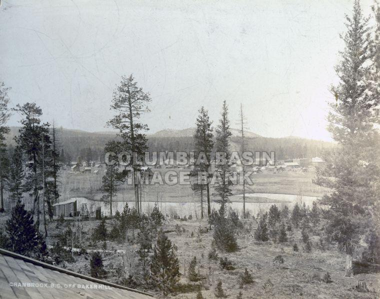 Early View from Baker Hill, Cranbrook, B.C.