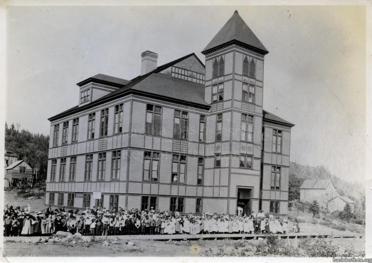 Central School in Rossland BC c.1910
