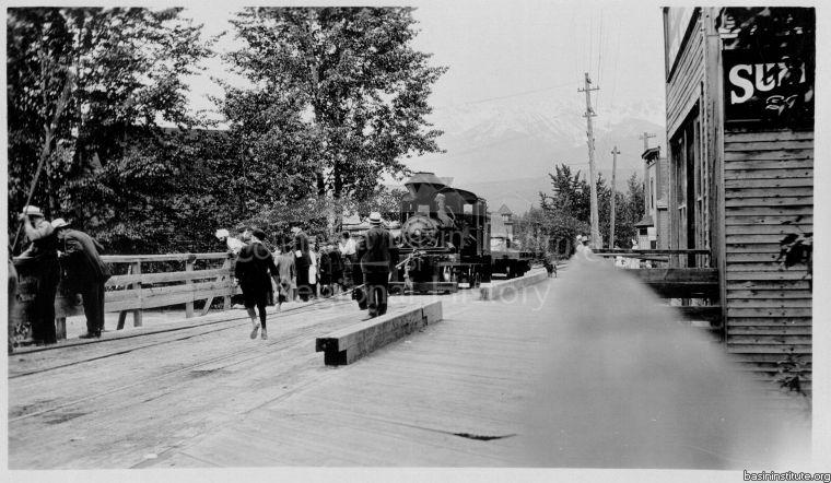1916 Flood in Golden, BC