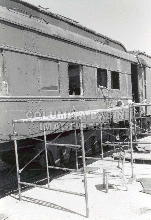 Restoration of CPR Rail Coach 'River Rouge'