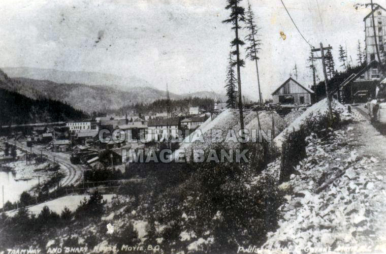 Tramway and Shaft House at Moyie, BC