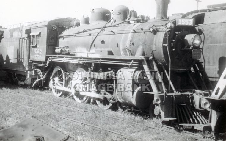 Steam Locomotive #1553