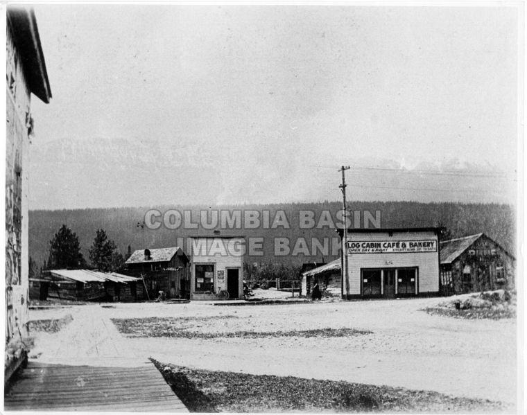 A view of Golden BC 1927