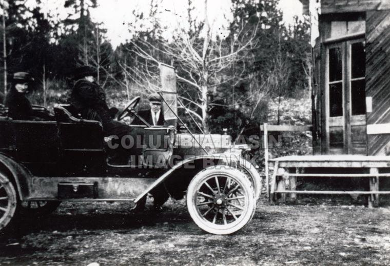 Model T Ford in Kimberley