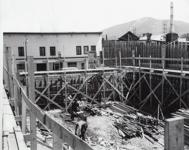 Armond Theatre Construction in Cranbrook, BC c.1951