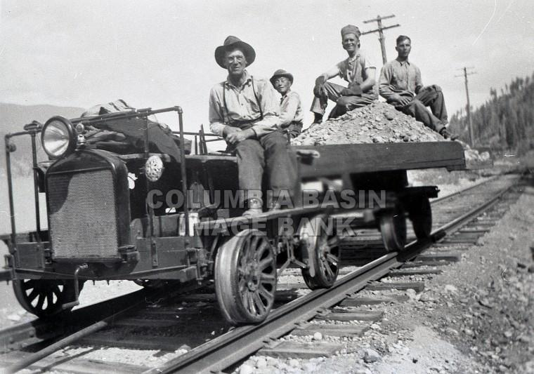 Railway Speeder As Work Truck