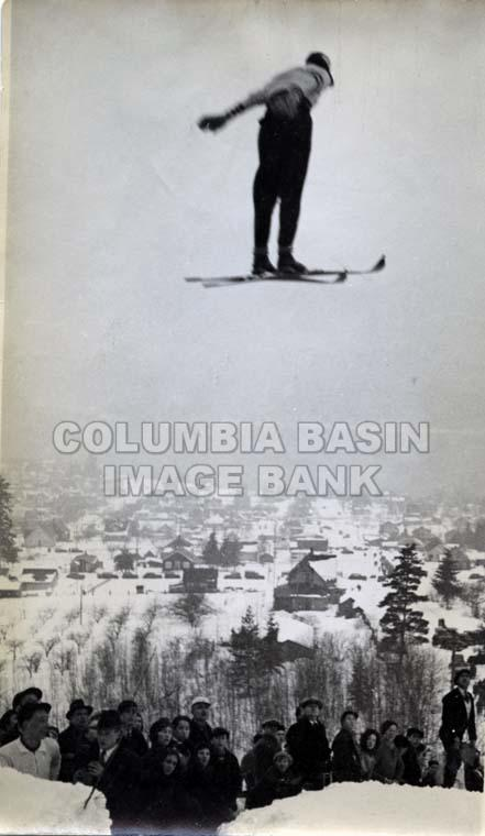 Ski Jumping in Rossland