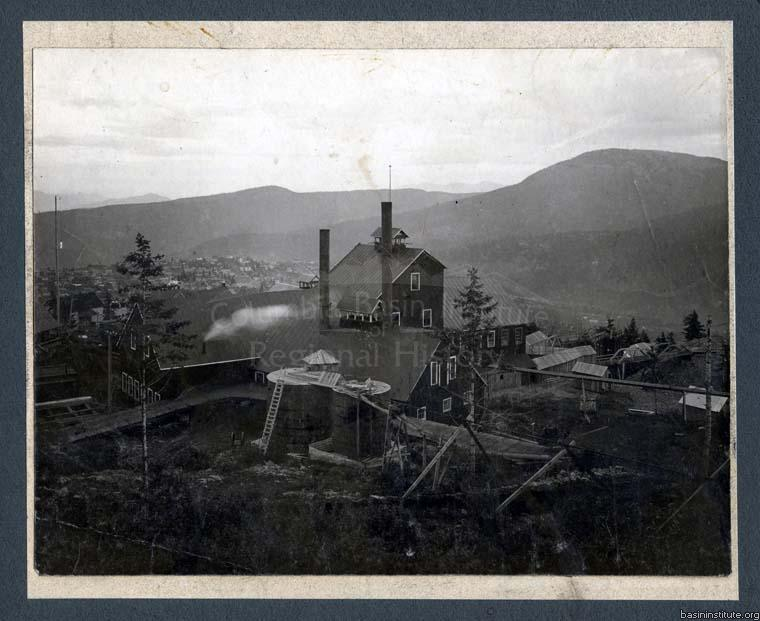 LeRoi Mine in Rossland, BC