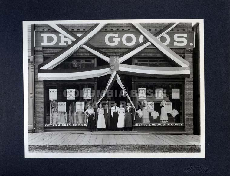 Betts & Oddy Dry Goods Store in Rossland, BC