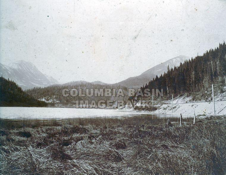 B.C. Southern Railway near Crowsnest Lake (c1898)